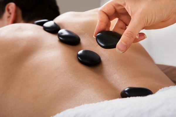 Картинка Элементы стоунтерапии для спины